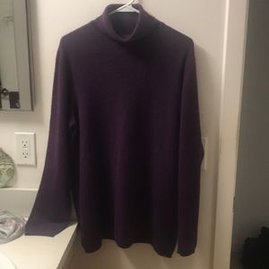 Price Firm Lands' End 100% Cashmere Sweater-M